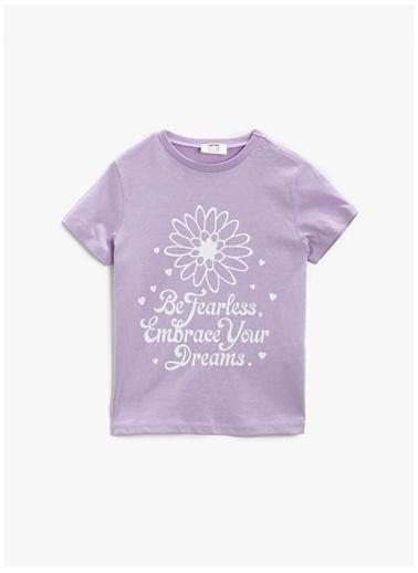 Koton Koton T-Shirt Lila